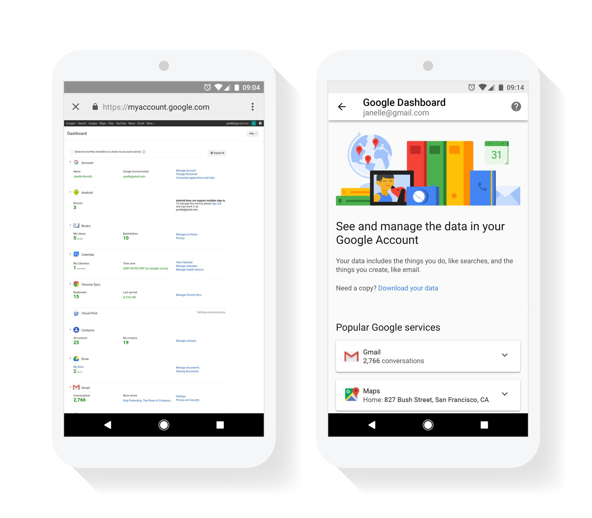 Improving our privateness controls with a brand new Google Dashboard