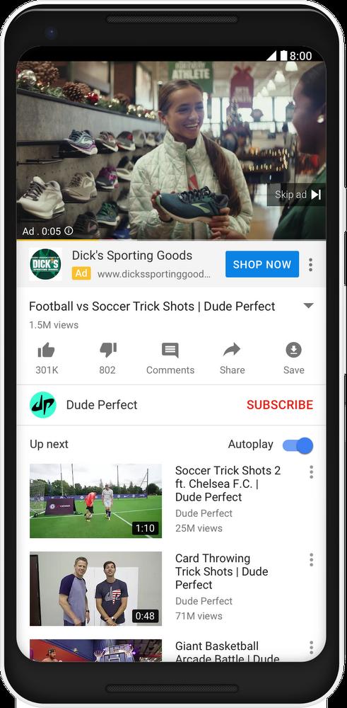 Dicks Sporting TrueView for Reach