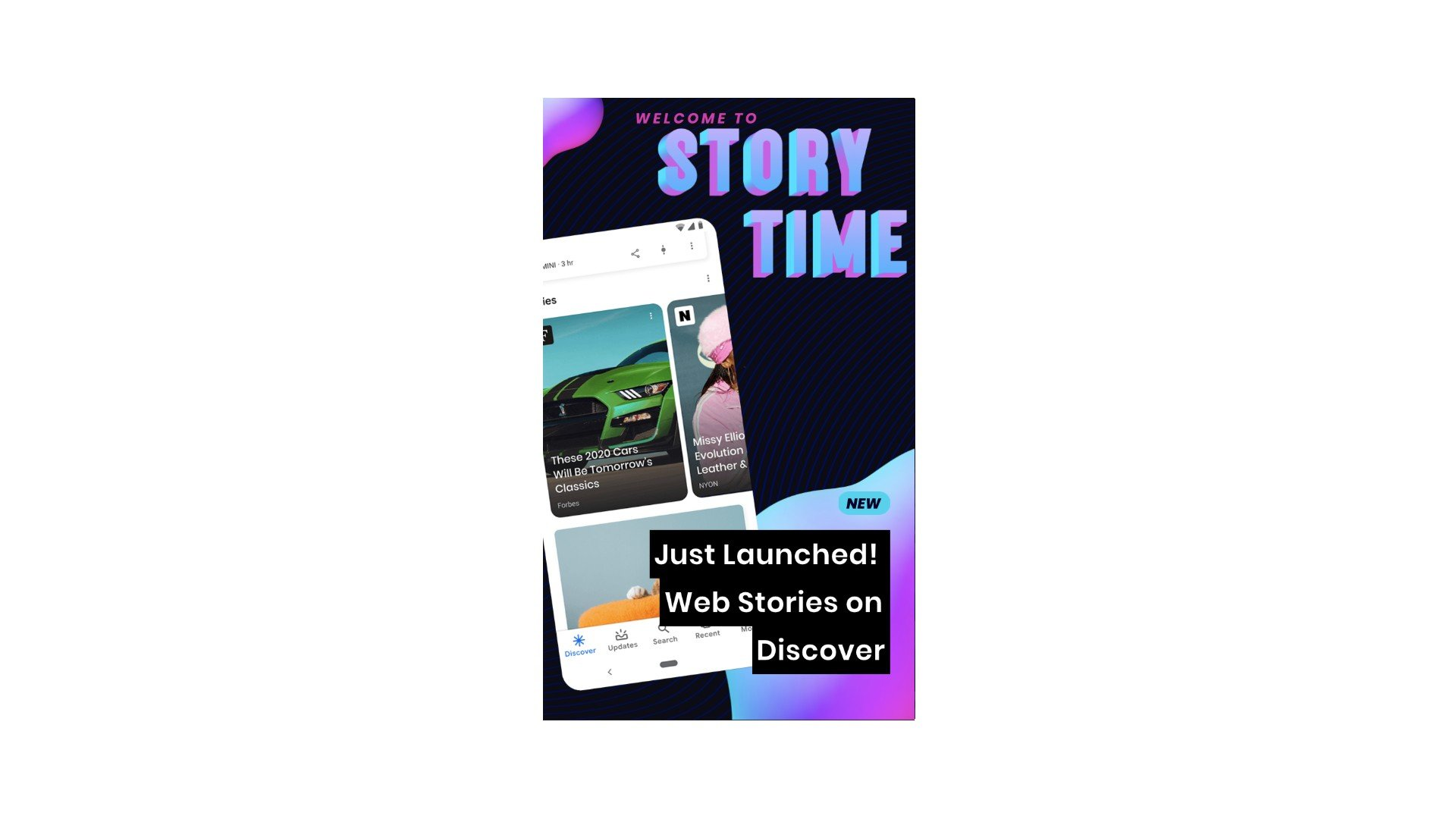 New in Web Stories: Discover, WordPress and quizzes
