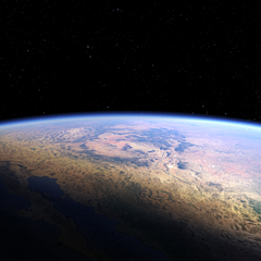 Earth VR Banner - no text