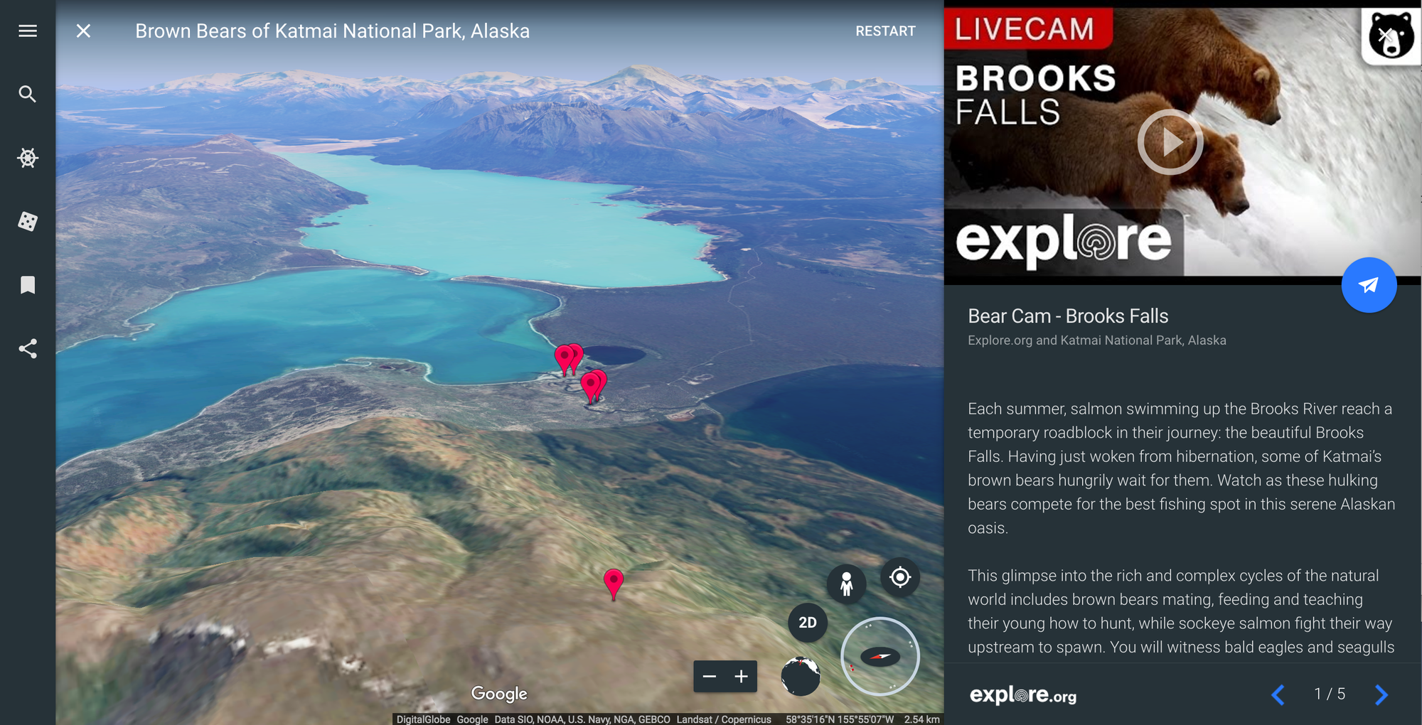Google Earth Live Exploreorg Invites You To Hang Out With - Google earth live