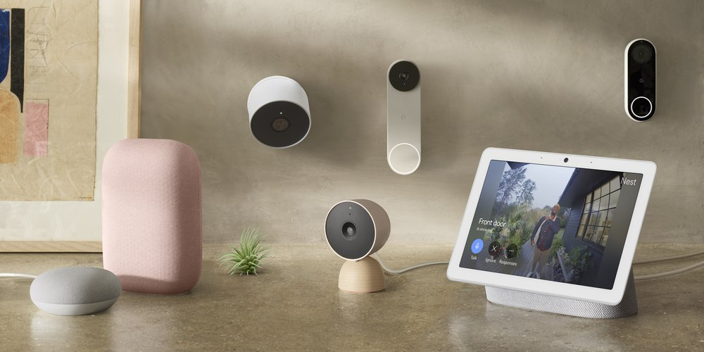 The new cameras and doorbells work better together with other Nest products, like Displays