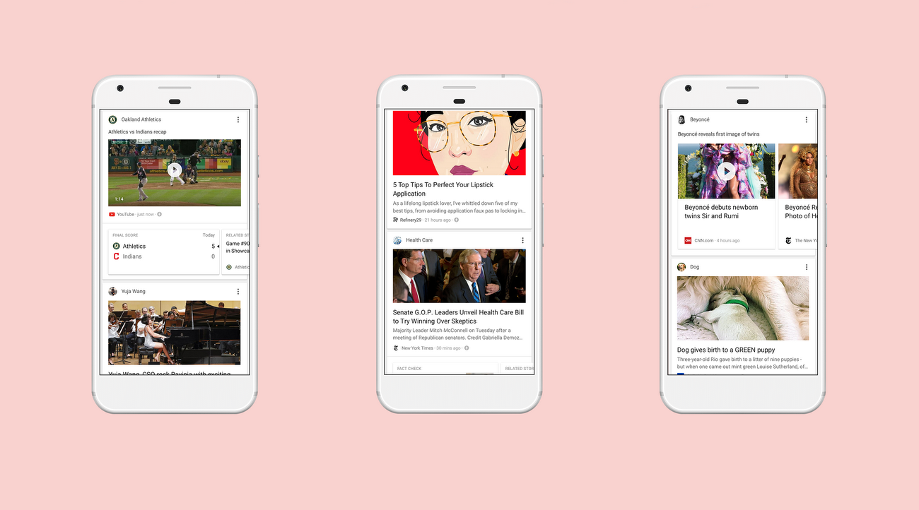 Google feed feed your need to know