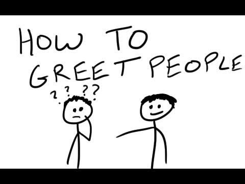 How To Greet People