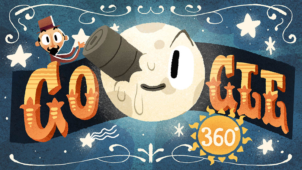 Premiering now: The first-ever VR Google Doodle starring illusionist & film director Georges Méliès