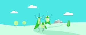 Grasshopper hero