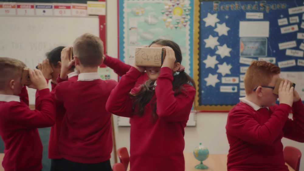 Half a million U.K. students have traveled near and far with Google Expeditions