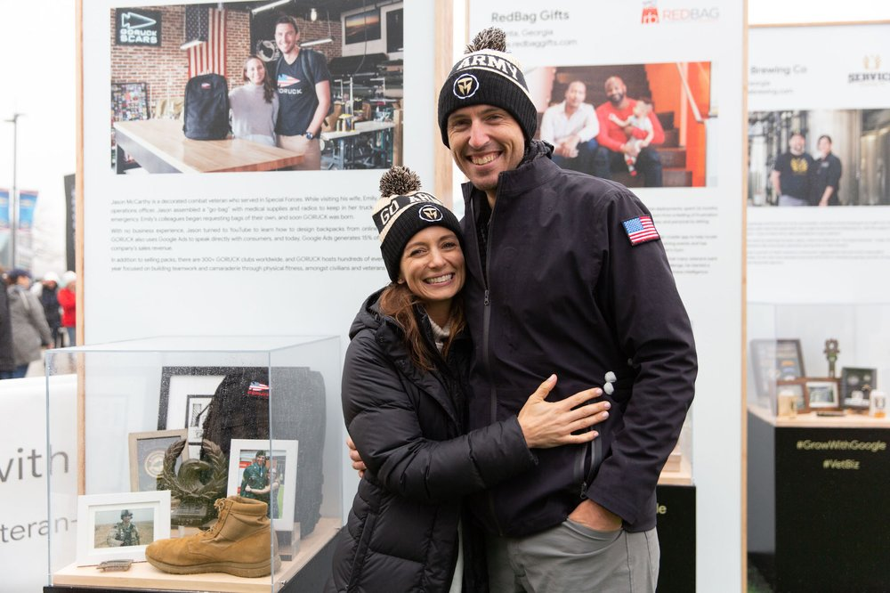 Jason and Emily McCarthy of GORUCK