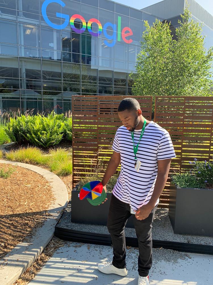 Google intern Grant Bennett