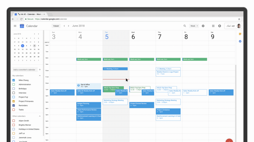 Google Calendar Scheduling