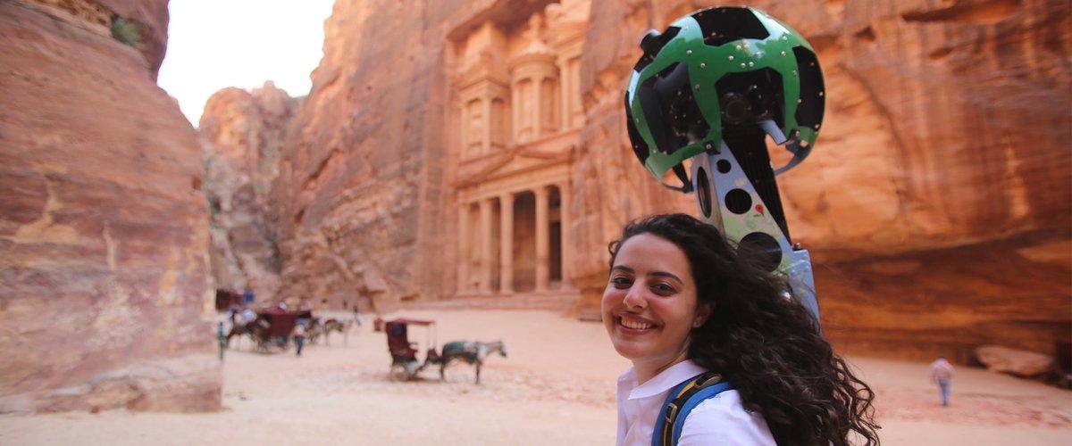 Zain Masri in Petra