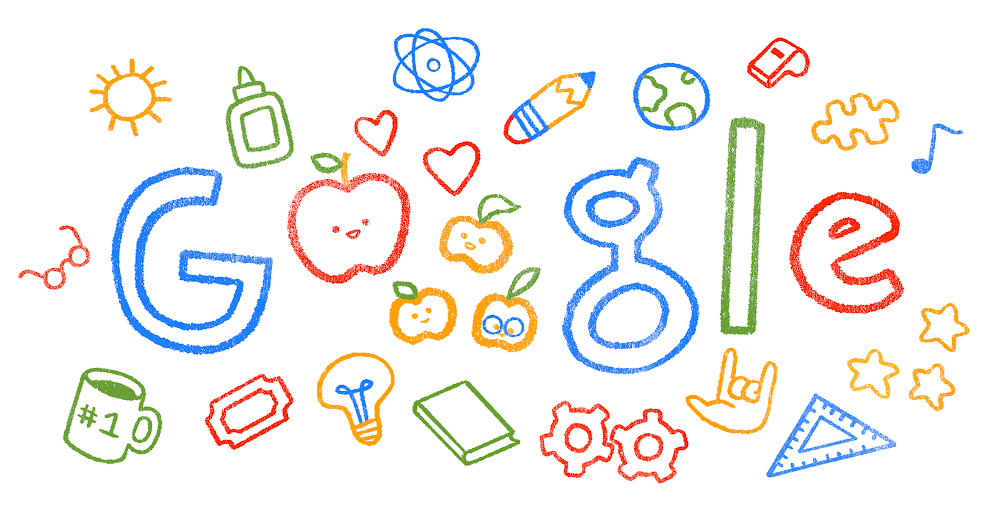 Google Doodle celebrating teachers