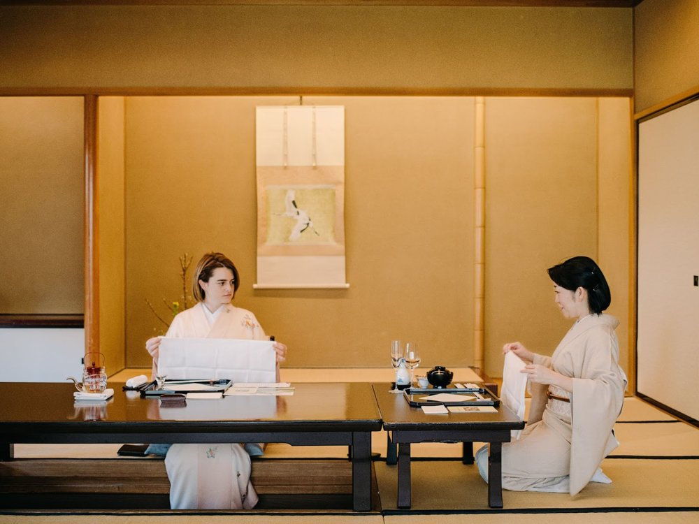 A Japanese culinary appreciation and etiquette class at Hotel Chinzanso Tokyo Ryotei Kinsui
