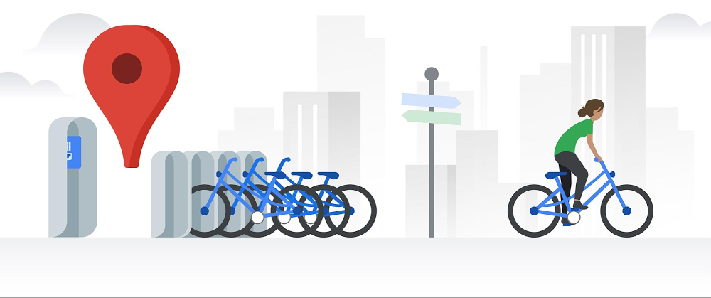 Real-time bikeshare information in Google Maps rolls out to 24 cities