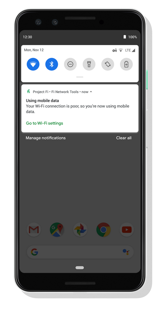 Project Fi's enhanced network brings faster, more secure connections