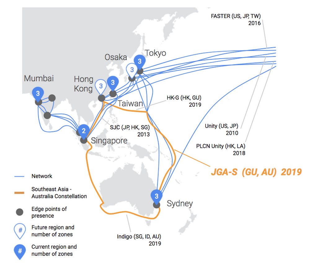 Expanding our cloud network for a faster, more reliable experience between Australia and Southeast Asia