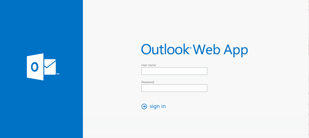 Spoofed Outlook login panel used by North Korean attackers attempting to harvest credentials
