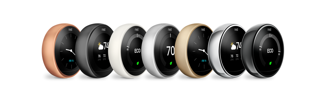 Adding Three New Colors To The Nest Thermostat Family