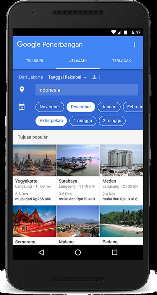 Explore Flights in Indonesia