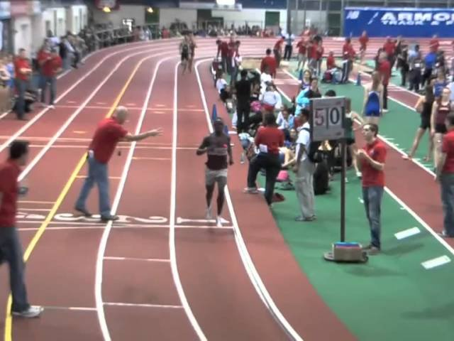 Edward Cheserek 8:43.16 two-mile — Molloy Stanner Games