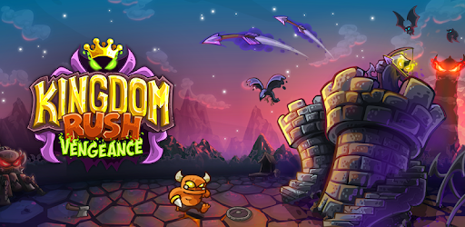 Kingdom Rush Vengeance mobile game with castles, creatures, monsters, arrows, mountains and a fantasy world filled with fun.