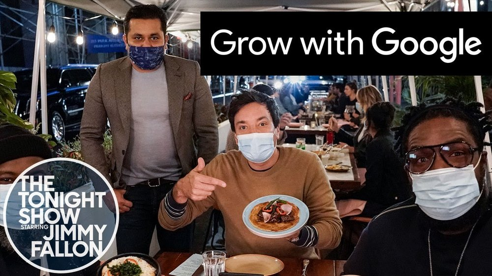 Jimmy Fallon and Google support NYC small businesses