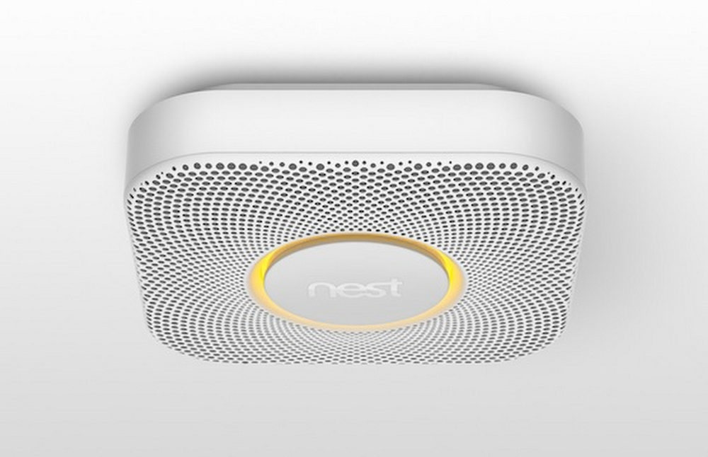 The Nest Protect smoke and carbon monoxide alarm gives you a Heads-Up before the emergency
