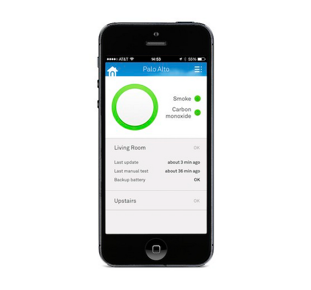Quickly look through all your Nest Protect smoke and CO alarms from the Nest app