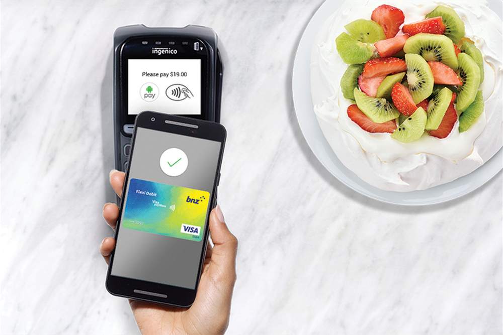 New Zealand Android Pay