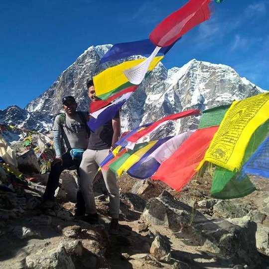 Imperial Nepal Treks guide reaches Everest Base Camp