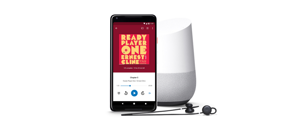 "Ok Google, read my book""    Introducing audiobooks on Google"