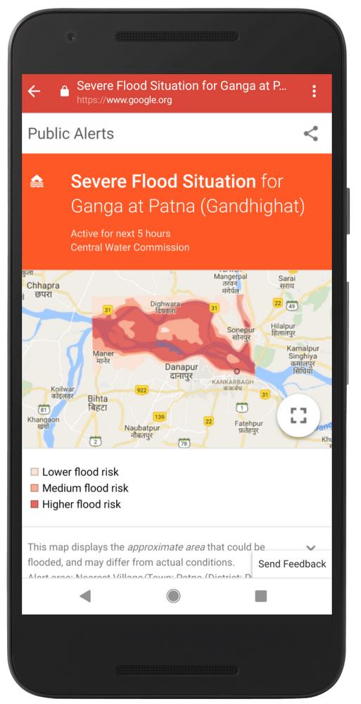 AI for flood forecasting