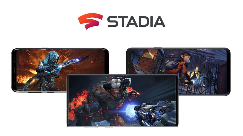 Stadia on new phones