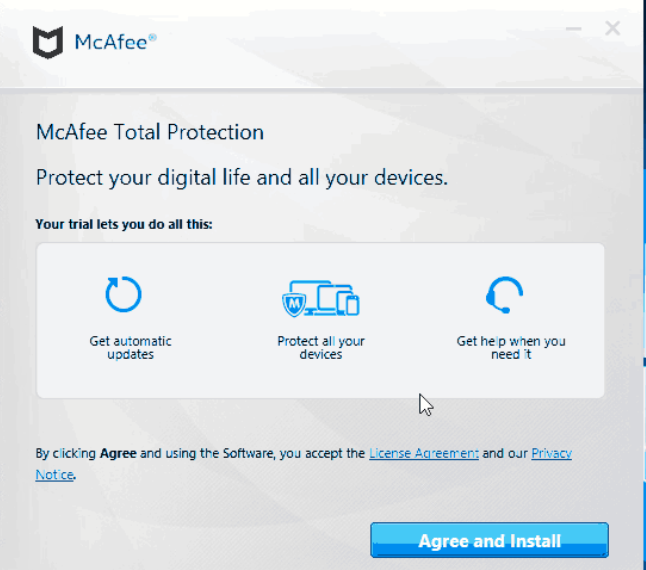 Example prompt from an APT31 campaign impersonating McAfee