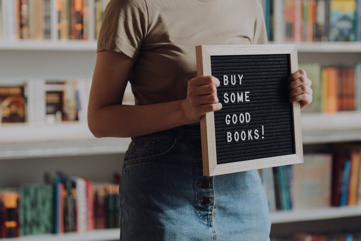 Buy Some Good Books