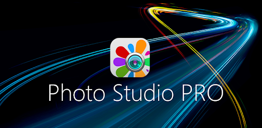 Photo Studio PRO app with sharp colors and graphics including effects, manipulation, modification and design of photographs, images and pictures on your mobile device.