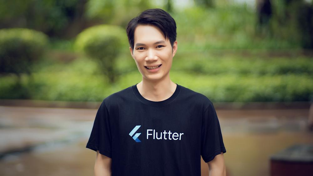 Zebiao Hu, Flutter Create winner