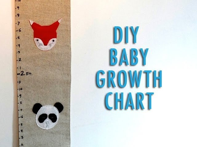 DIY Baby Growth Chart
