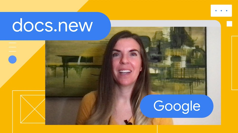 Video of Jaime Schember, the social media lead for Google Workspace, sharing how social media has played a key role in spreading the popularity of their .new shortcuts.