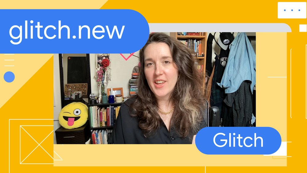 Video of Jenn Schiffer, Director of Community at Glitch, sharing how the glitch.new shortcut has been positively received and how community feedback has led to new features.