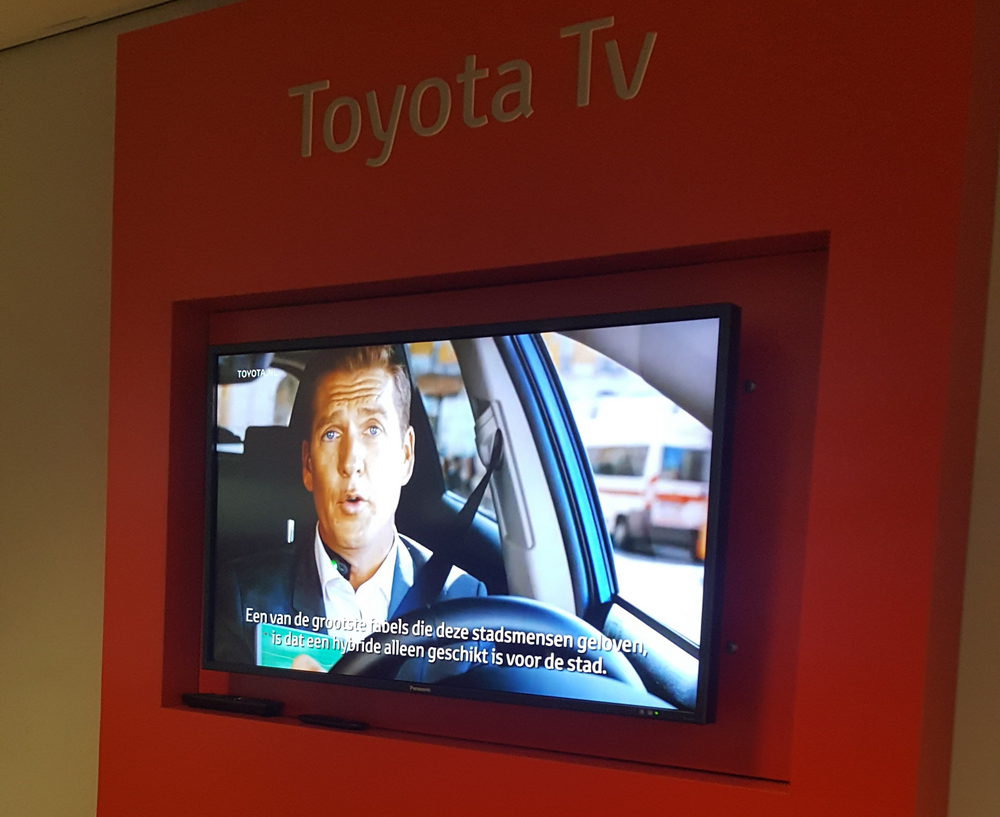 Toyota TV on Chrome