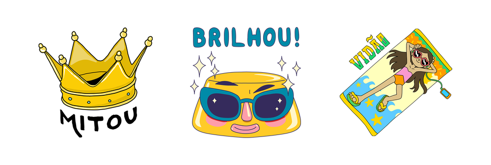 Brazil new stickers