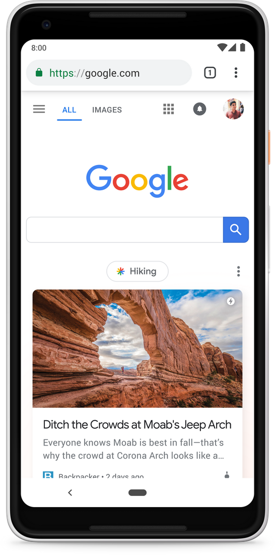 Introducing Google Discover: Discover new information and inspiration with  Search, no query required