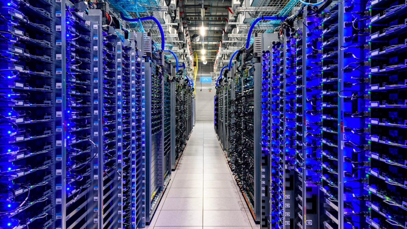 One percent of Googlers get to visit a data center, but I did