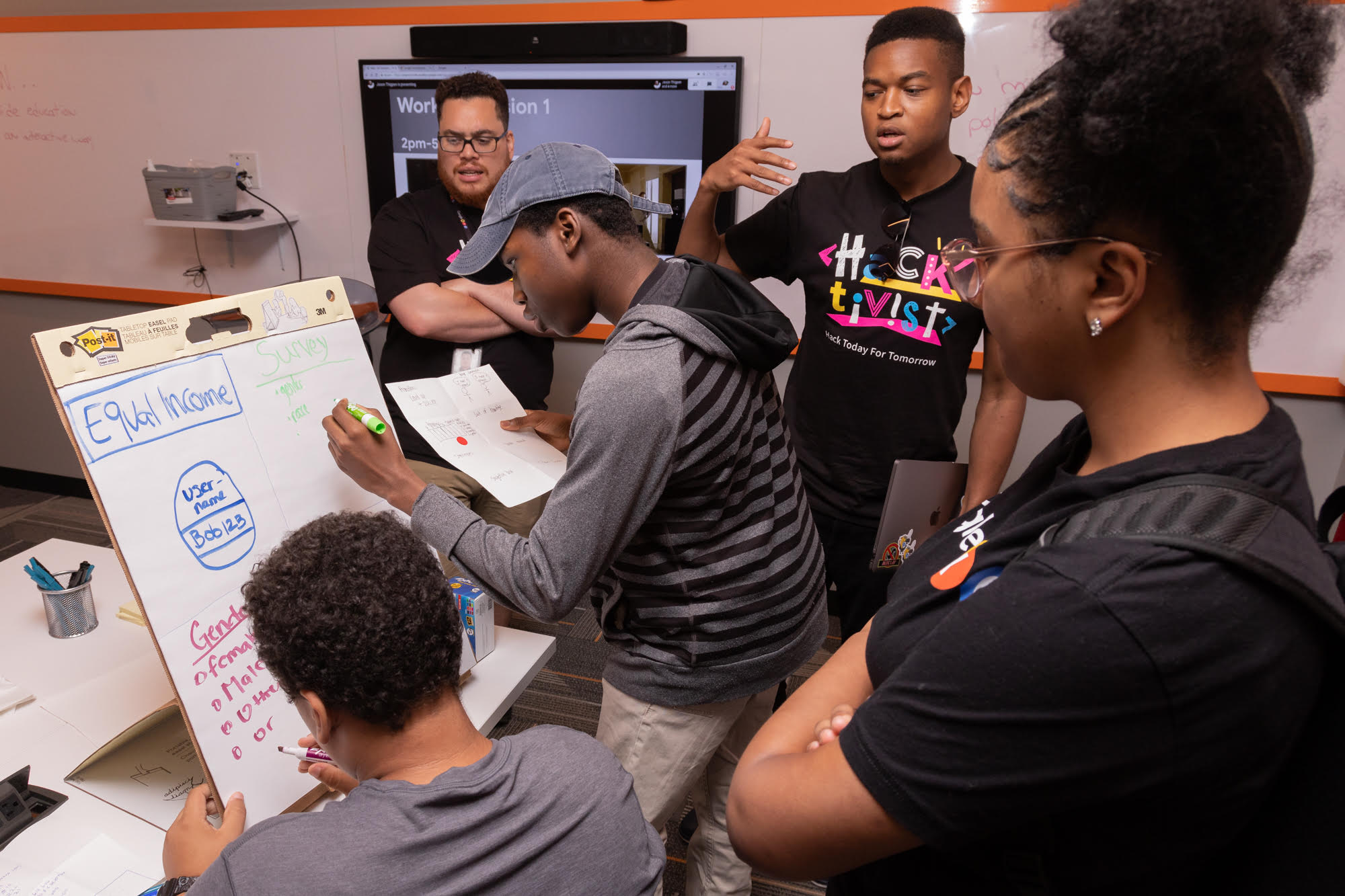 Code Next students merge computer science and activism