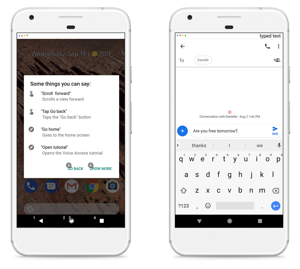 Use your voice to access the world with a new Android app
