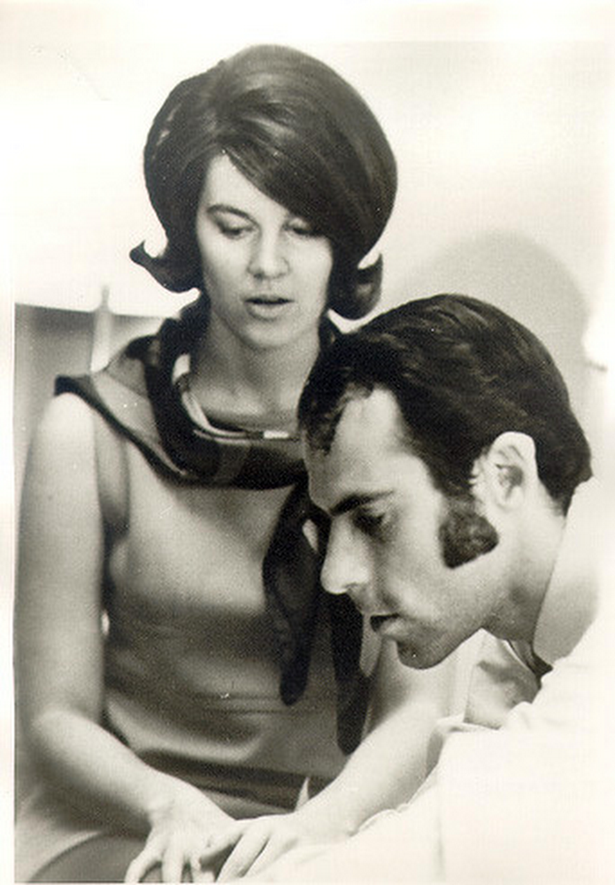 Vint Cerf and his wife Sigrid circa 1969