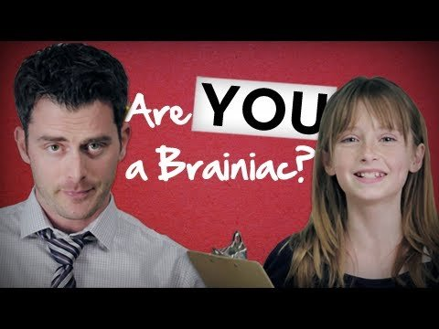 Are You a Brainiac? (TEST)