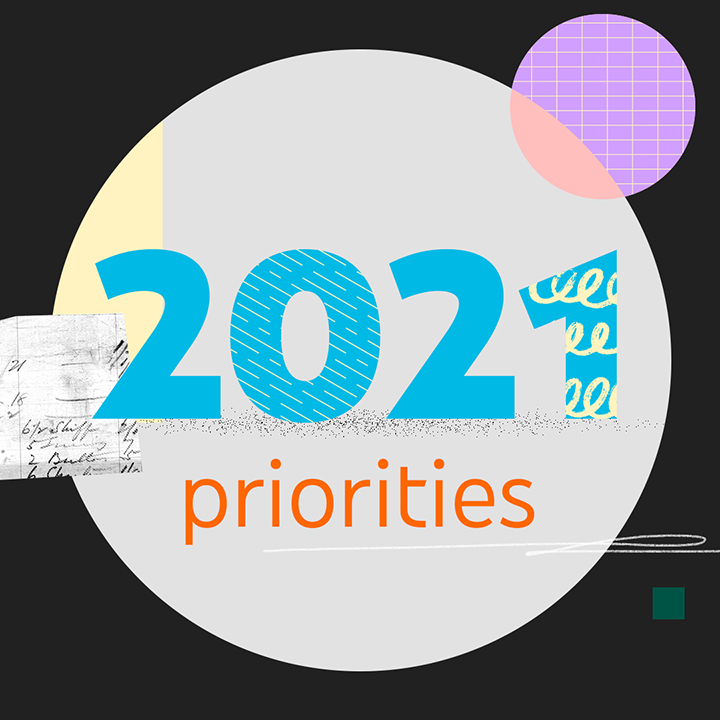Letter from Susan: Our 2021 Priorities