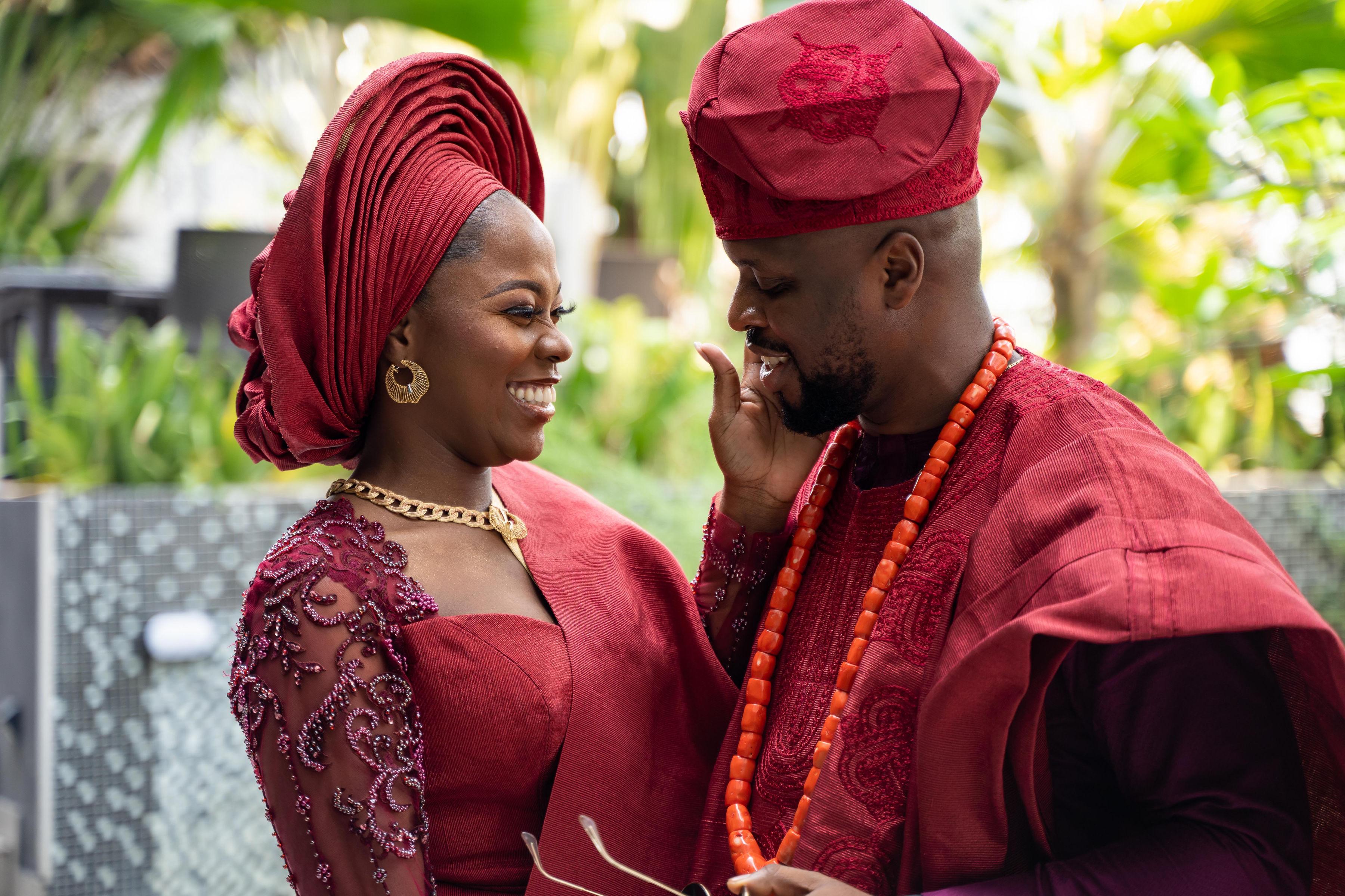 Traditional wedding photo of me and my husband